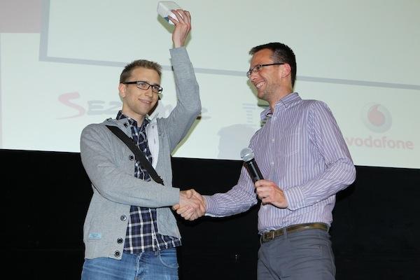 Tomáš Peterka měl od Vodafonu i cenu pro vybraného hlasujícího