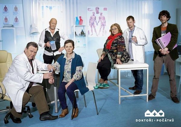 Doktoři z Počátků. Foto: TV Nova