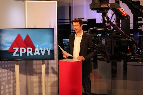 Televize Metropol před rokem uvedla nové studio
