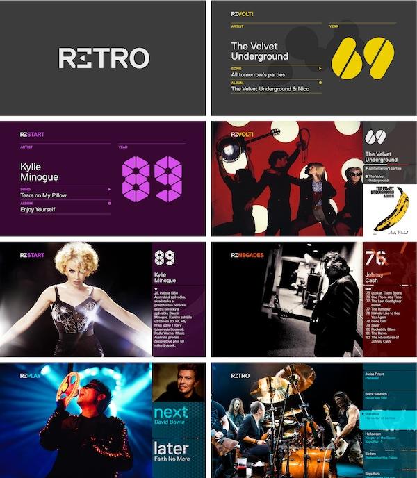 Nová grafika Retro Music Television od studia Oficina. Kliknutím zvětšíte