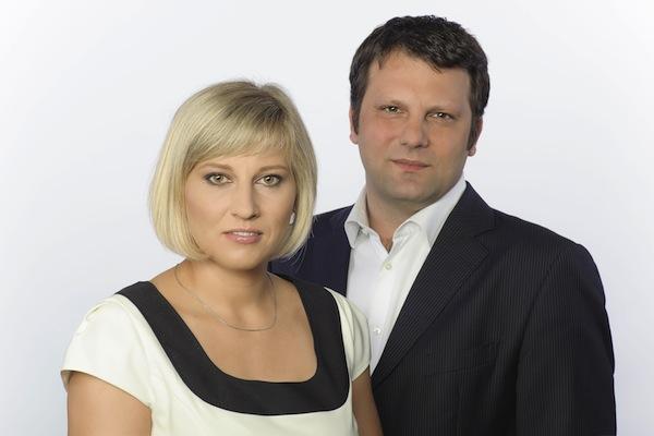 Eva Sroka a Jan Kučmáš
