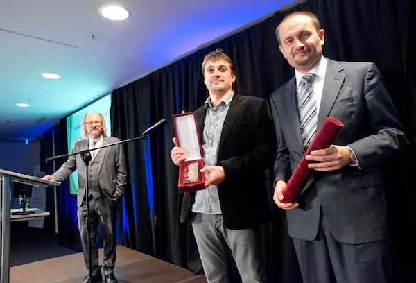 Volební tým Karla Schwarzenberga měl v čele Marka Pražáka (vpravo). Foto: APRA