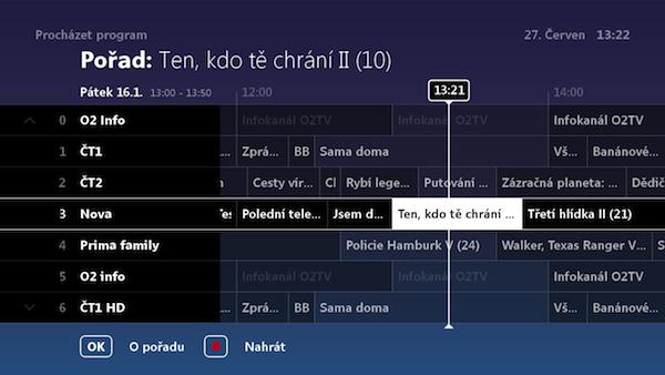 Prostředí O2 TV se má letos výrazně změnit