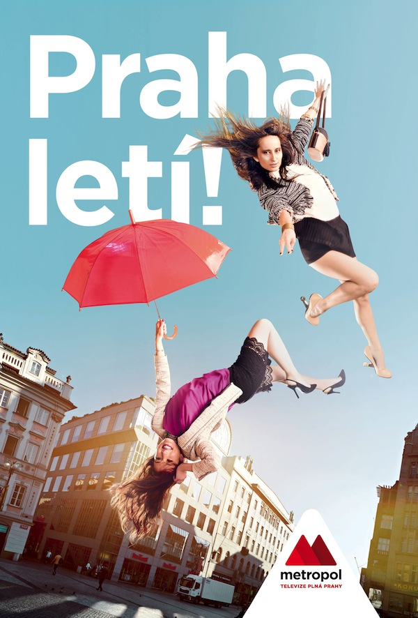 Lenka Vacvalová a Veronika Hong v reklamě Metropolu