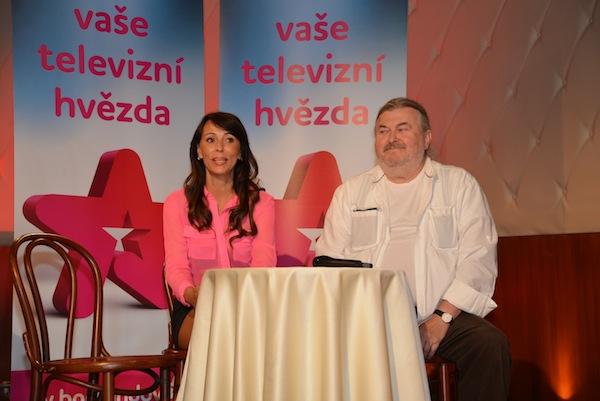 Heidi Janků a František Ringo Čech