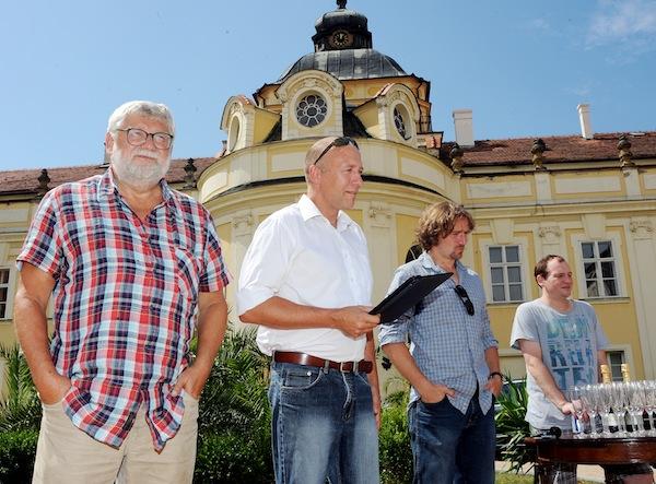 Josef Klíma, Robert Jašków, Janek Kroupa, Marek Taclík. Foto: TV Nova