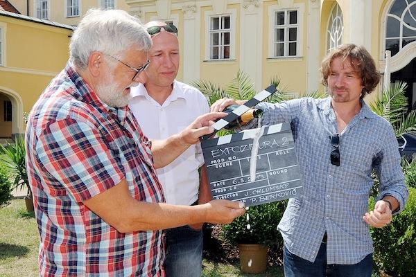 Josef Klíma, Robert Jašków, Janek Kroupa. Foto: TV Nova