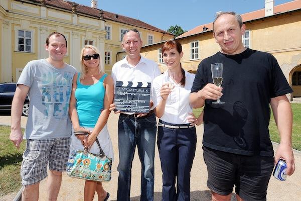 Marek Taclík, Anna Šišková, Robert Jašków, Hana Vagnerová, Jan Kraus. Foto: TV Nova