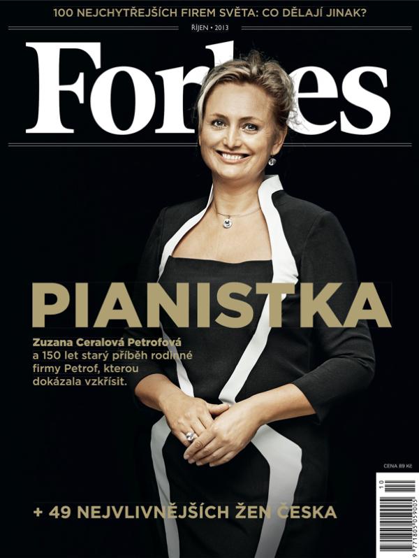 Obálka říjnového Forbesu