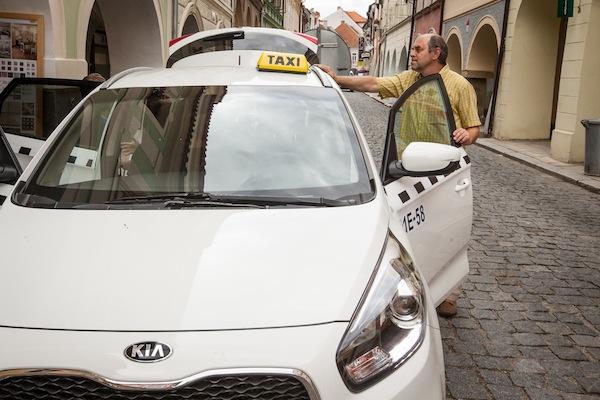 Miroslav Táborský a product placement automobilky Kia