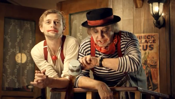 Kristán s Petrem Čtvrtníčkem pojali kampaň jako rozhovory starého klauna s mladším kolegou