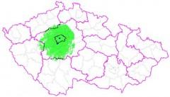 Mapa pokrytí zemským signálem Sport 5 v multiplexu 3. Zdroj: Czech Digital Group
