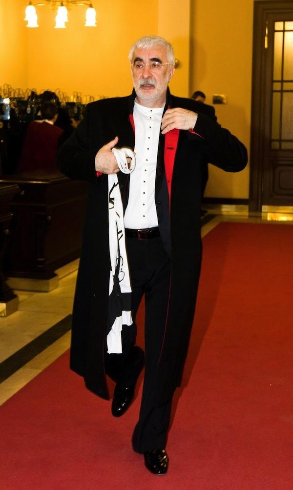 Adrian Sarbu v březnu 2011 na plese seriálů Novy na pražském Žofíně. Foto: Profimedia.cz