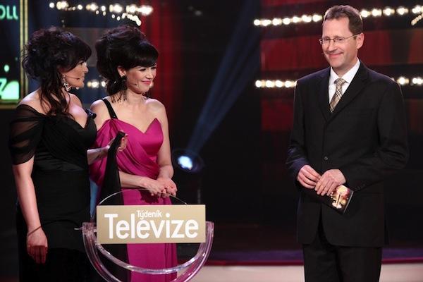 Jaromír Skopalík při loňském předávání cen Týdeníku Televize TýTý 2011. Foto: Profimedia.cz