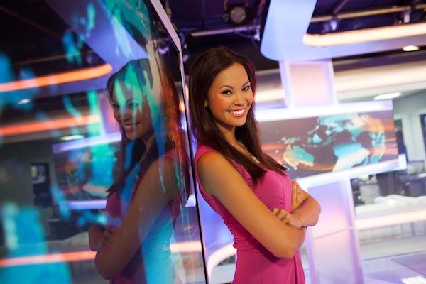 Nová zprávařka Primy Monika Leová. Foto: TV Prima