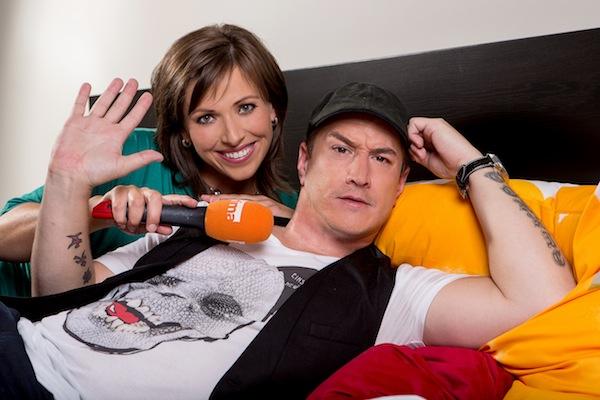 Monika Zajícová a Tomáš Kraus. Foto: TV Prima