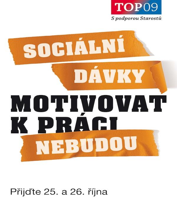 Kampaň TOP 09: Motivovat k práci