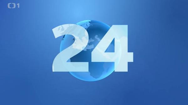 Znělka ČT24. Repro: ČT24