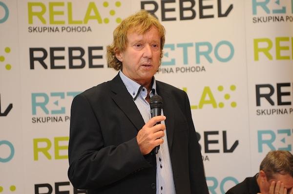 Radim Pařízek má tři televize a dvě digitální sítě. Foto: TV Relax