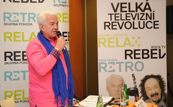 Jiří Krampol kritizoval současný módní cíl, dostat mladé k obrazovce. Foto: TV Relax