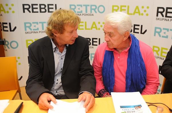 Radim Pařízek a Jiří Krampol. Foto: TV Relax