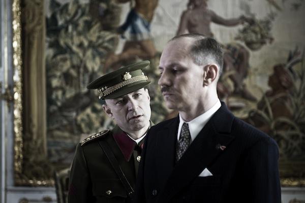 Den po Mnichovu: Daniel Landa jako Emanuel Moravec, Martin Finger jako Edvard Beneš. Foto: ČT
