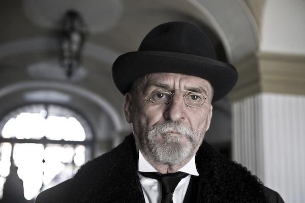 Velké bourání: Martin Huba jako Tomáš Garrigue Masaryk. Foto: ČT