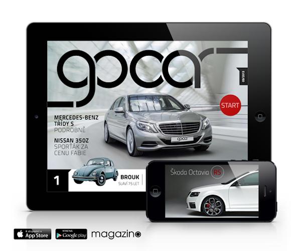 Měsíčník GoCar vychází pro Android a iOS