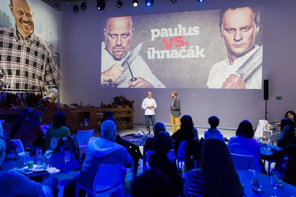 Tiskovou konferenci Lidlu uváděl Libor Bouček, moderátor Frekvence 1 či VyVolených na Primě