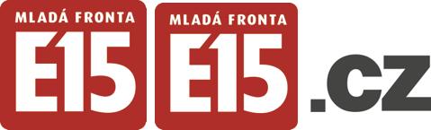 Inovované logo E15 a E15.cz se zakulacenými rohy