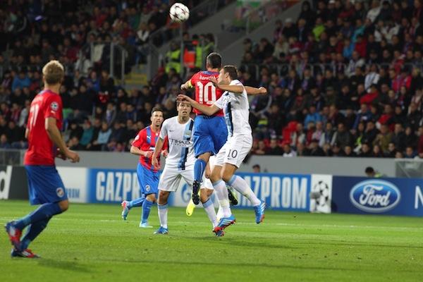 FC Viktoria Plzeňvs. Manchester City FC v Lize mistrů. Foto: Profimedia.cz