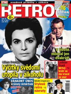 Titulní strana 1. čísla magazínu Retro