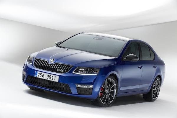 Škoda Octavia se na přelomu roku představila v inovovaném designu. Foto: Škoda Auto