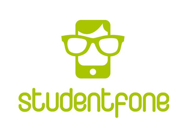Logo virtuálního operátora Studentfone od agentury Revolta