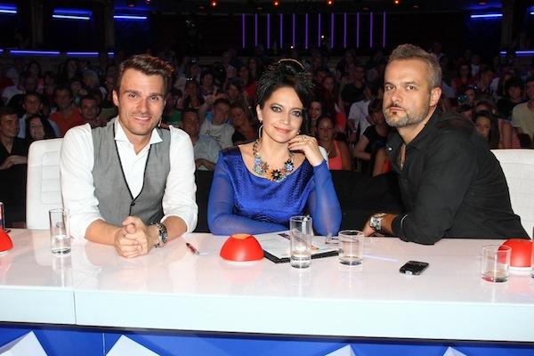 Porotci Talentu Leoš Mareš, Lucie Bílá, Jaro Slávik. Foto: TV Prima