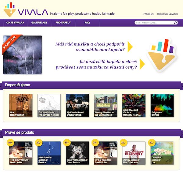 Design webu vytvořil hudebník a výtvarník Maťo Mišík
