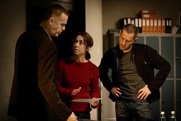 Dánská vyšetřovatelka Sarah Lundová se v 2. řadě Zločinu noří do armádního prostředi. Foto: ČT