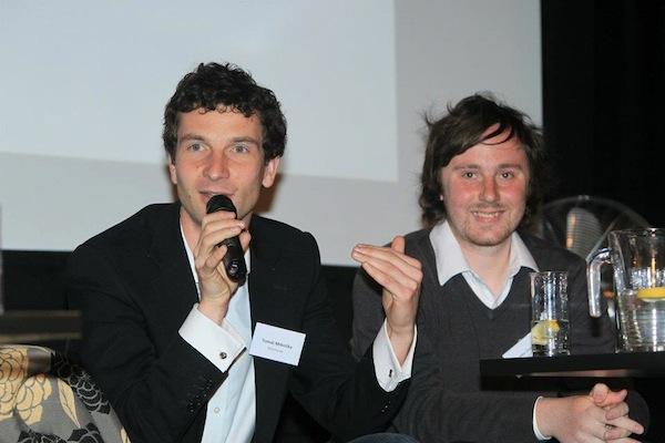 Tomáš Mrkvička představil Portmonku také na loňské konferenci Médiáře Do banky přes mobilní aplikaci