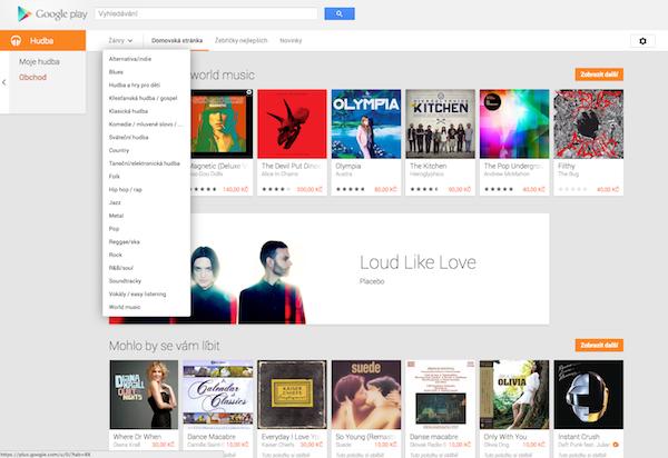 Hudba na Google Play