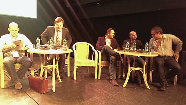 Zleva Matěj Hušek, Vladimír Piskáček, Daniel Grunt, Michal Feix, Pavel Krbec