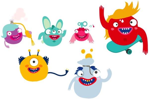 Kampaň staví na animovaných postavičkách tzv. bodíků