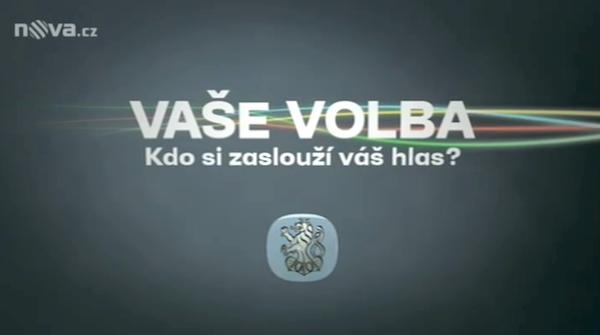 Logo volebních diskusí na Nově. Repro: tn.cz