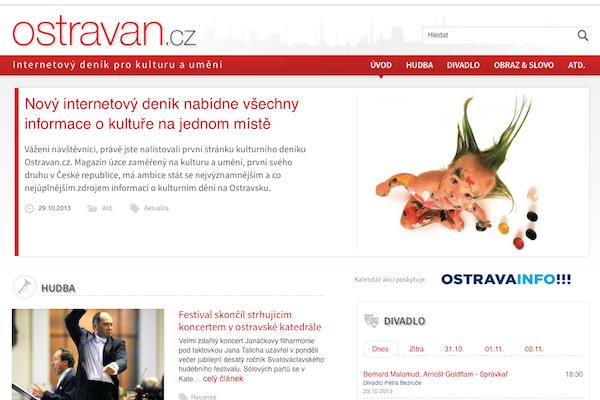 Web Ostravan.cz