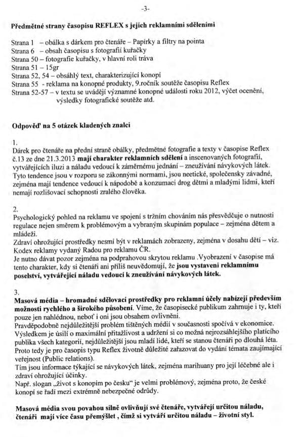 Posudek znalce, strana 3