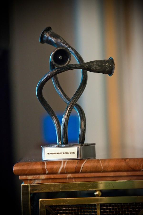 Ocenění pro osobnost roku v oblasti PR. Foto: Blue Events