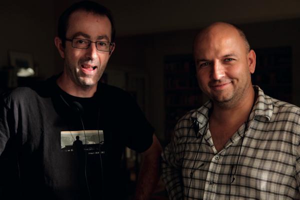 Terapie 2: režisér Petr Zelenka a Alexander Šurkala. Foto: HBO