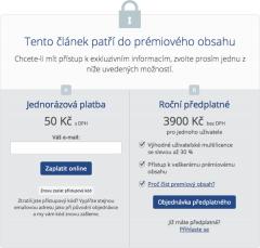 Za jeden článek na Digizone.cz zaplatí zájemce 50 Kč, víc než třeba za časopis Reflex