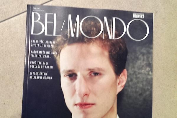 Obálka posledního čísla Bel Monda