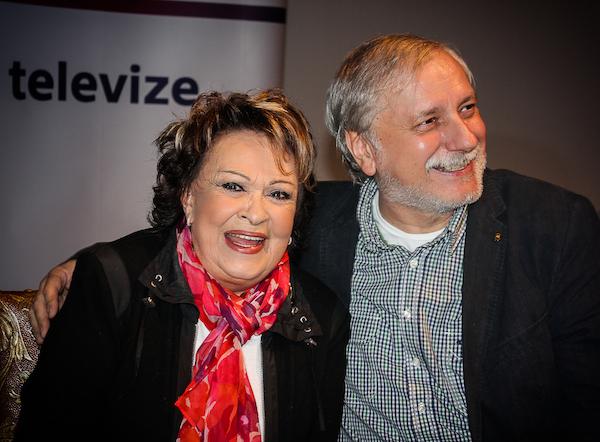 Jiřinka Bohdalová a Zdeněk Zelenka. Foto: Martina Votrubová