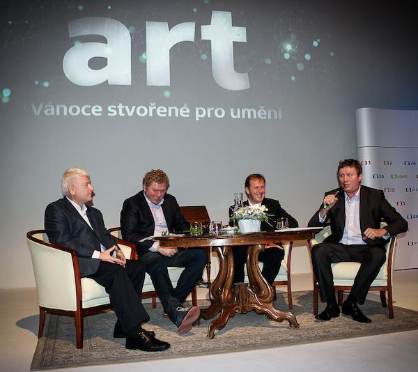 Zleva Petr Koliha, Milan Fridrich, Petr Dvořák a Tomáš Motl. Foto: Martina Votrubová